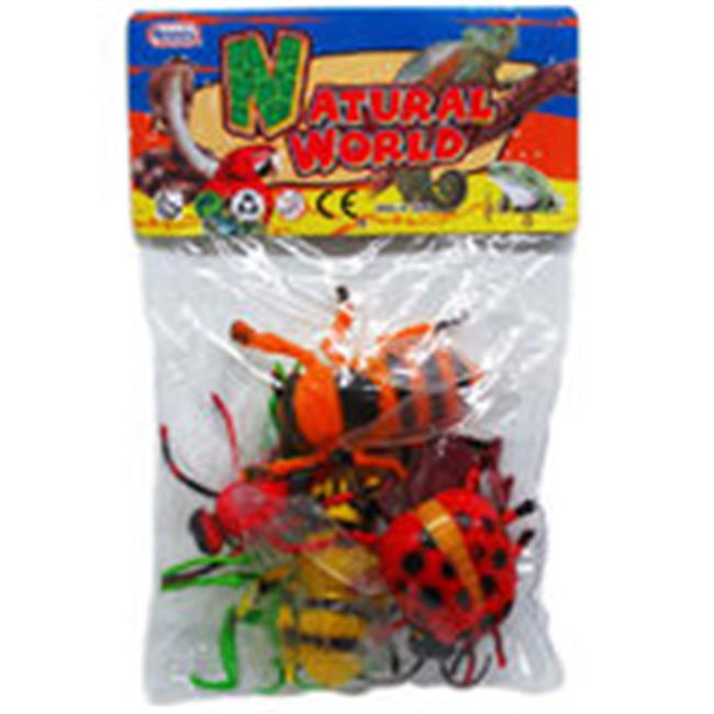 DDI 1989648 3-5 in. Insects 6 Piece by DDI