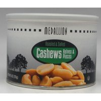Medallion Roasted & Salted Cashews Halves & Pieces, 6 Oz.