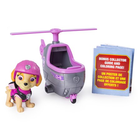- PAW Patrol Ultimate Rescue, Skye's Mini Helicopter with Collectible Figure, for Ages 3 and Up
