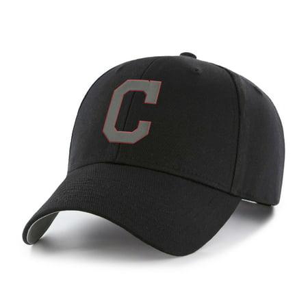 Fan Favorite - MLB Black Basic Cap, Cleveland Indians Cleveland Indians Baseball Hat