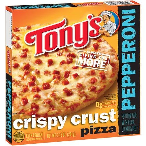 """Tony's Crispy Crust Pepperoni 7"""""""