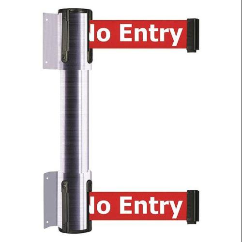 TENSATOR 896T2-1S-STD-RBX-C Belt Barrier, 7-1/2 ft., No Entry