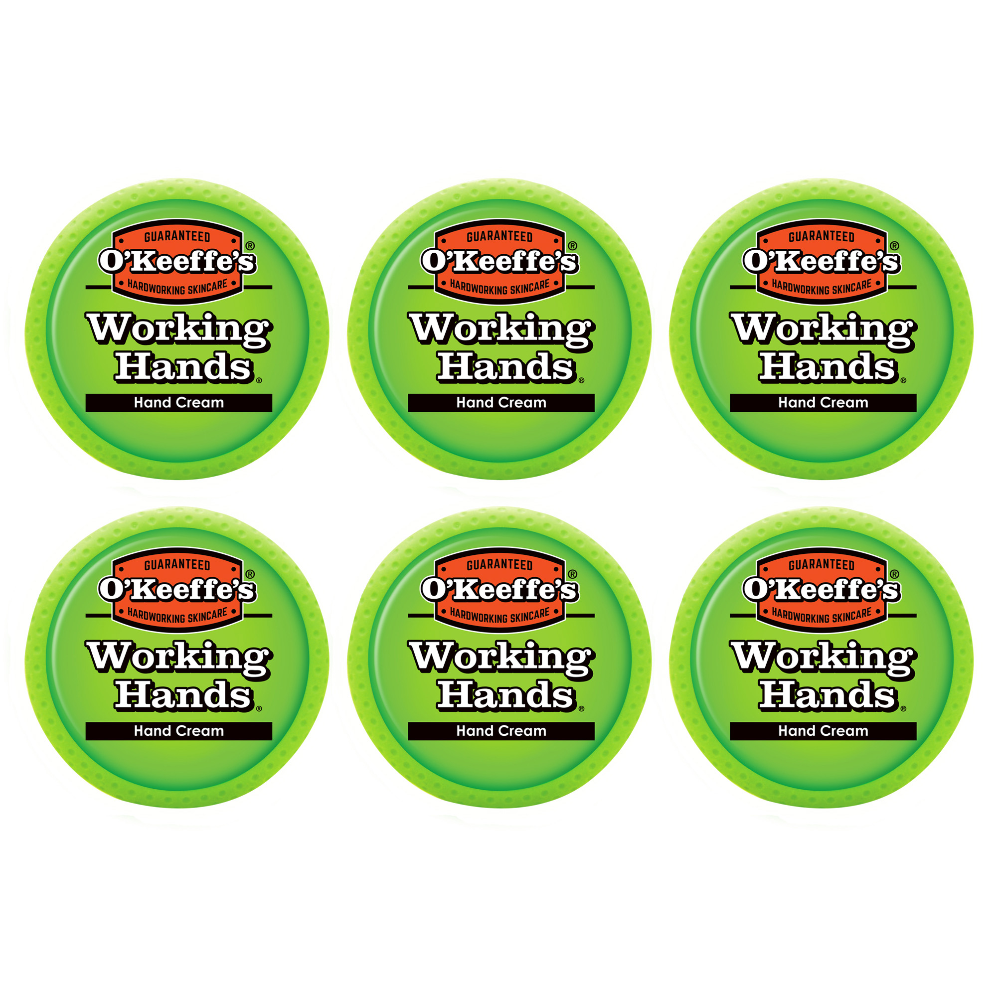 O'Keeffe's Working Hands Jar, 2.7 oz. (6 Pack)