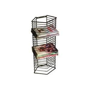 Atlantic - Onyx DVD Rack Tower - Steel