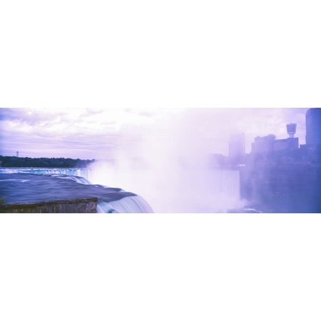 View of Horseshoe Falls Niagara Falls Ontario Canada Poster Print