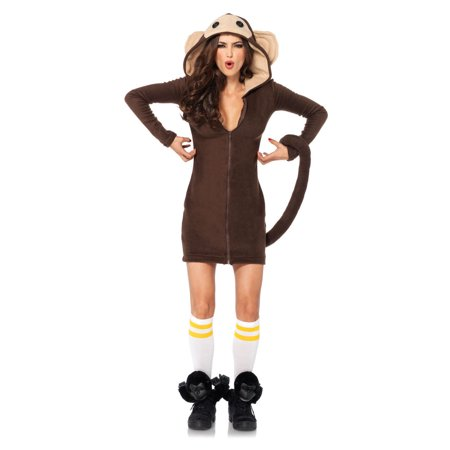 Leg Avenue Cozy Monkey Adult Womens (Women's Monkey Costume)