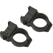 CVA Z2 Alloy Scope Rings High, Black