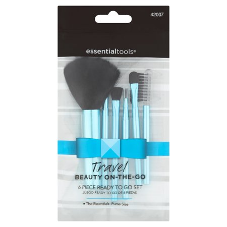 Essential Tools Travel Beauty On-The-Go 6 Piece Ready to Go Set