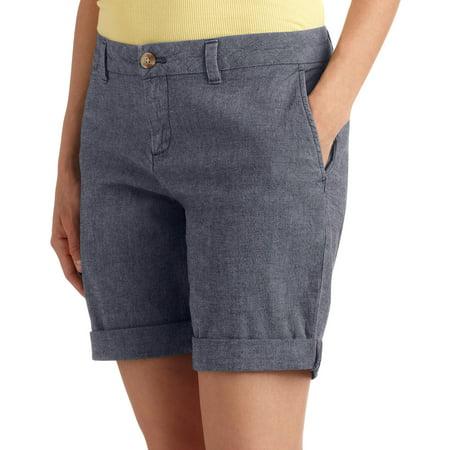 "Faded Glory - Faded Glory Women's 10"" Shorts - Walmart.com"