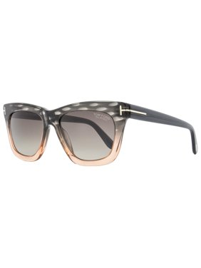 Product Image Tom Ford Rectangular Sunglasses TF361 Celina 20D Peach Shaded  Gray Polarized FT0361 af1ff7a7bc0