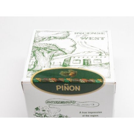 Pinon Incense Box with 40 Bricks, Pinon Pine Incense By Incienso de Santa Fe