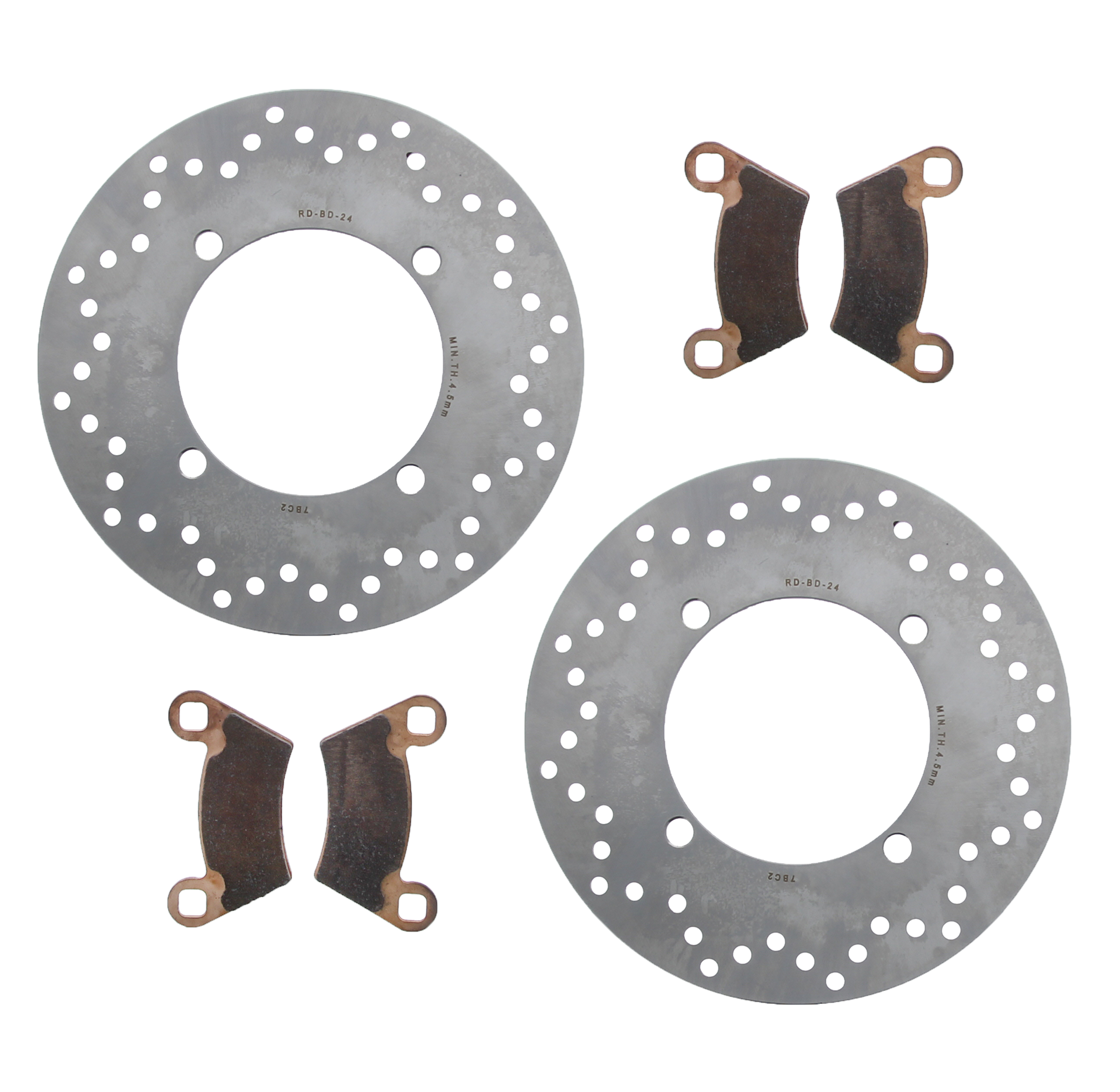 Brake Pads for Polaris RZR Pro XP 4 2020 MudRat Front and Rear by Race-Driven