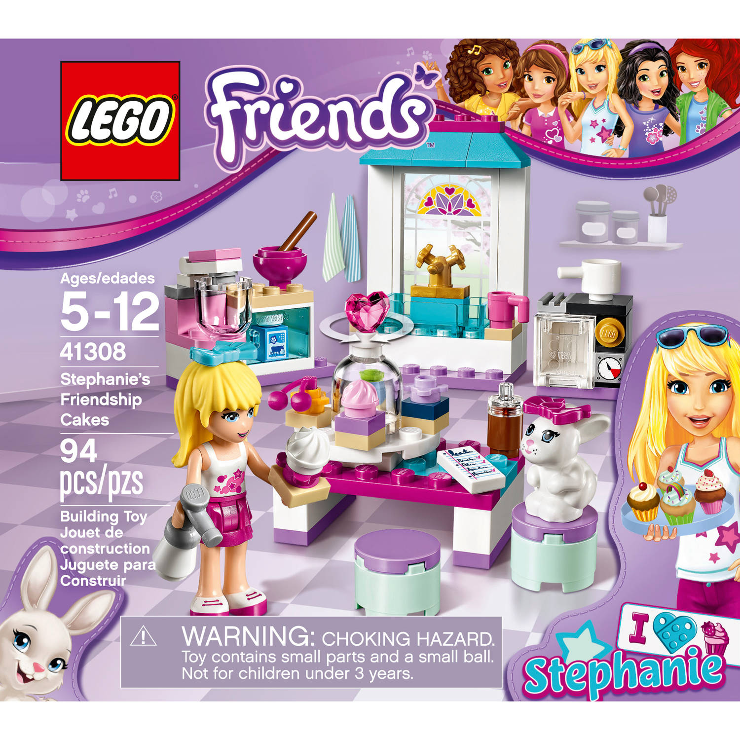 LEGO Friends Stephanies Friendship Cakes 41308 Building Kit