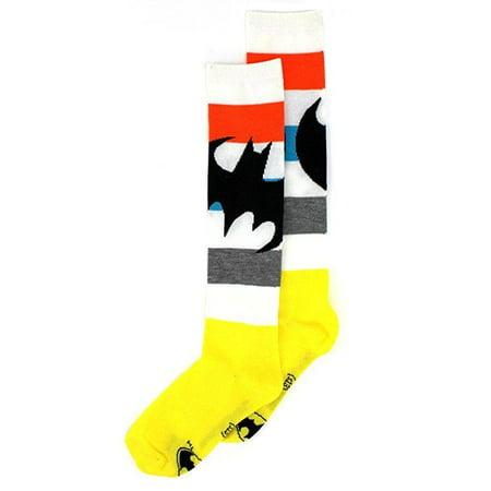 Batman Tights (Batman Tilted Logo Knee High Socks)