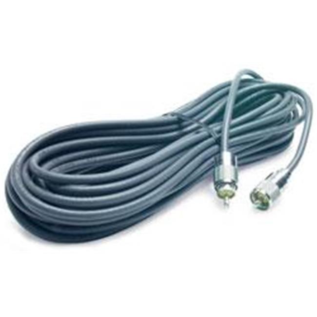 RoadPro RG-8X100BULK 100 ft.  RG-8X Coax Cable with PL-259 Connectors - Gray
