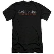 Constantine Hellblazer Logo Mens Slim Fit Shirt