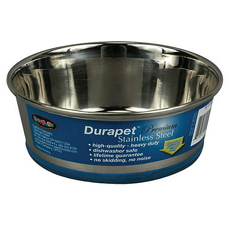 Ourpets Durapet Stainless Steel Dog Bowl, 96 Oz