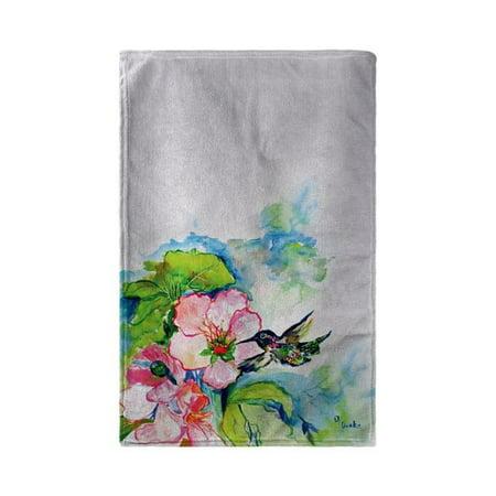 Betsy Drake BT437 30 x 50 in. Hummingbird & Hibiscus Beach Towel - image 1 de 1