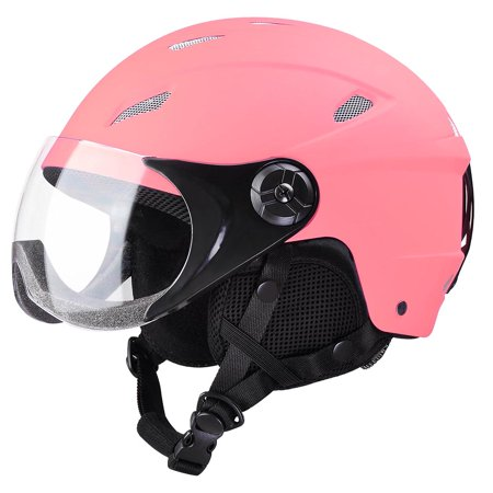 AHR Adult Snow Sports Helmet ASTM Certified for Ski Skate Board Protective Pink XL G10 Snow Helmet