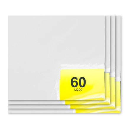 (Purus 24in. x 36in. White, 60 Layer Cleanroom Mat, (Case of 4))