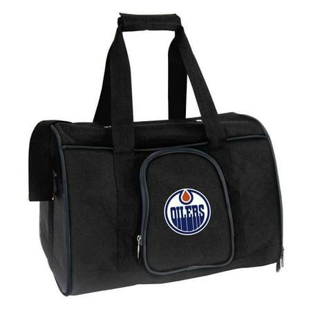 Mojo Licensing NHOIL901 NHL Edmonton Oilers Pet Carrier Premium Bag, Navy - image 1 de 1