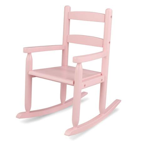 KidKraft Wooden Classic Childrens Rocking Chair - Pink
