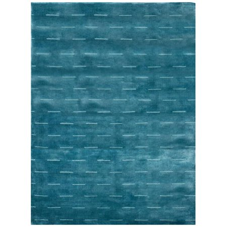 Due Process Stable Trading Modal Dashes Ocean Area Rug  12 X 18 Ft