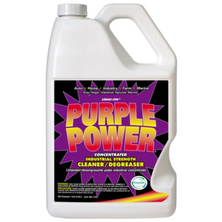 Purple Power Purple Power - Industrial Strength Cleaner and Degreaser - Super Concentrated, 1 gallon jug, sold by