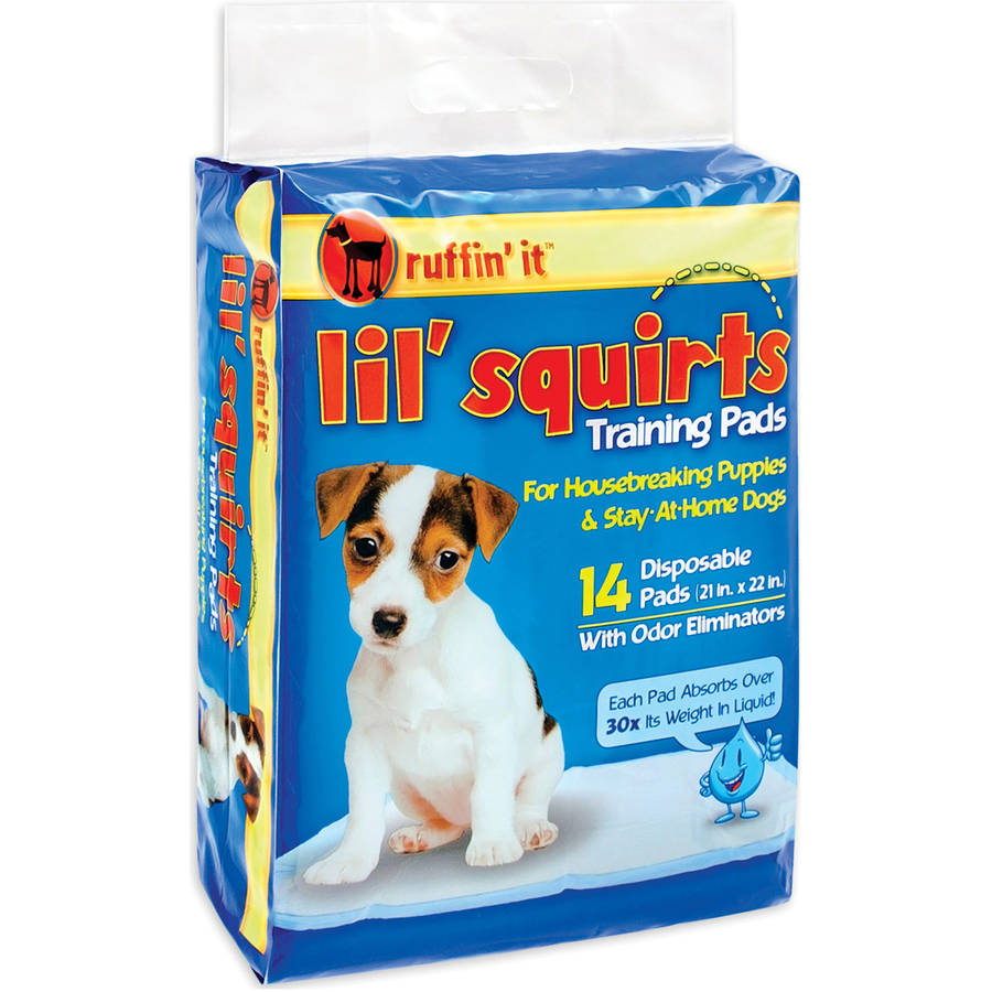 Lil' Squirt Training Pads, 14pk