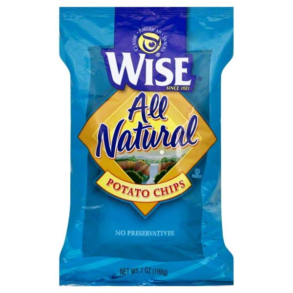 Wise Golden Original Potato Chips, 7 Oz.