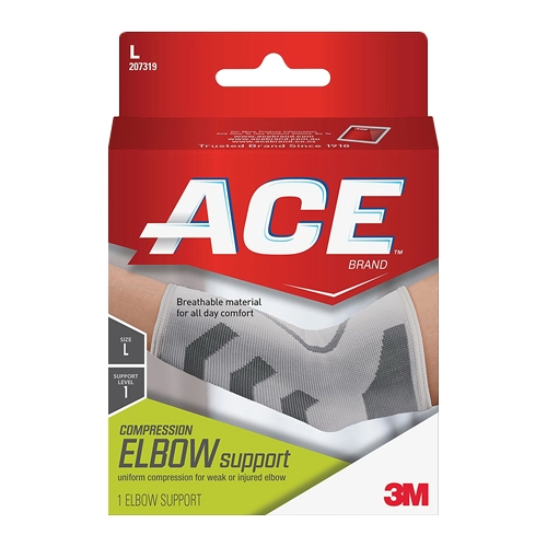 Image of Ace Compression Elbow Support, Large, #207319 - 1 Ea