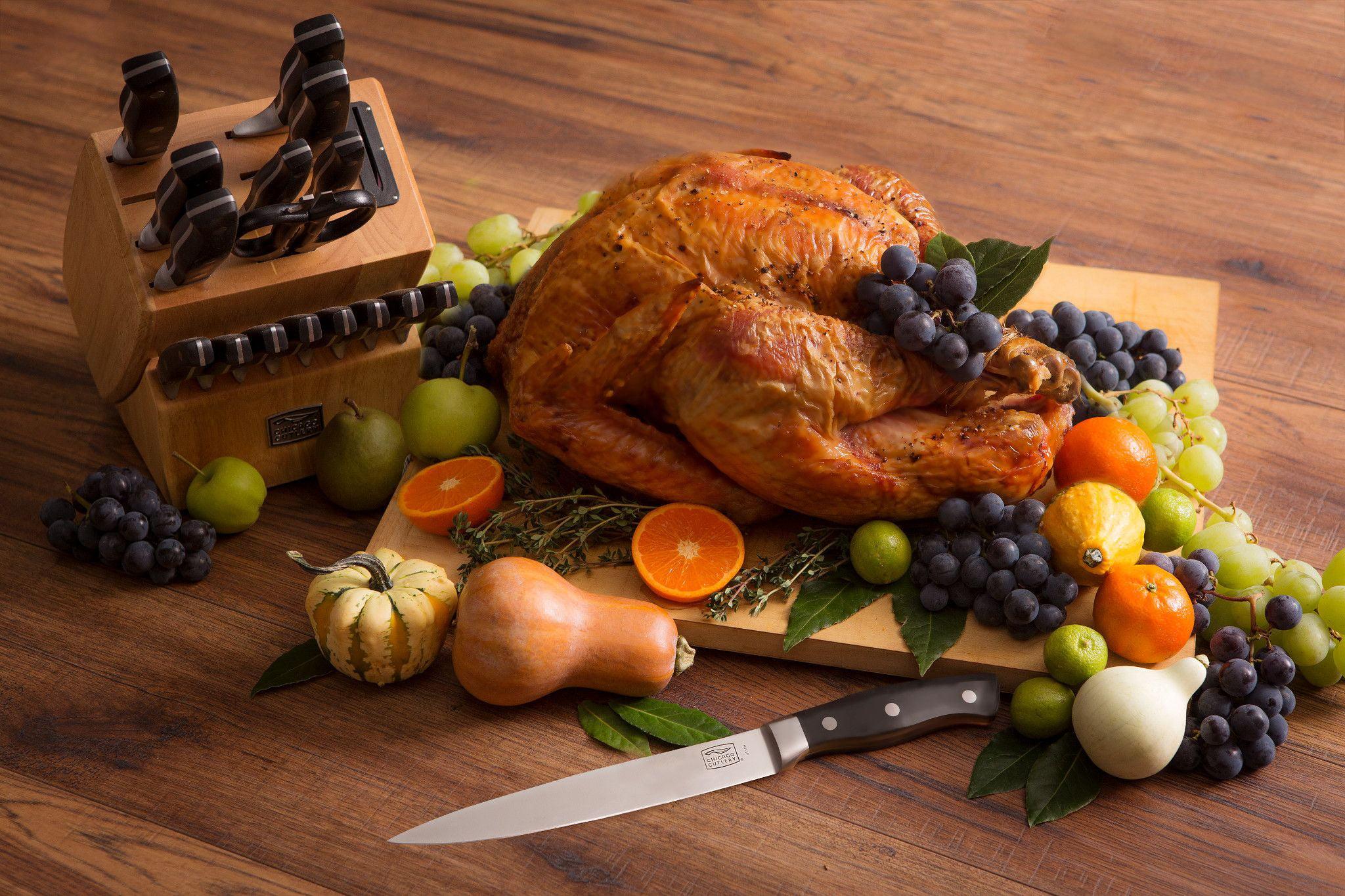 Chicago Cutlery Insignia2 18-Piece Knife Block Set with In-Block Sharpener by World Kitchen LLC