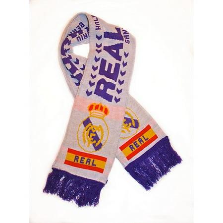 Premiership Soccer Usa Fan Scarf - Real Madrid Soccer Fan Scarf