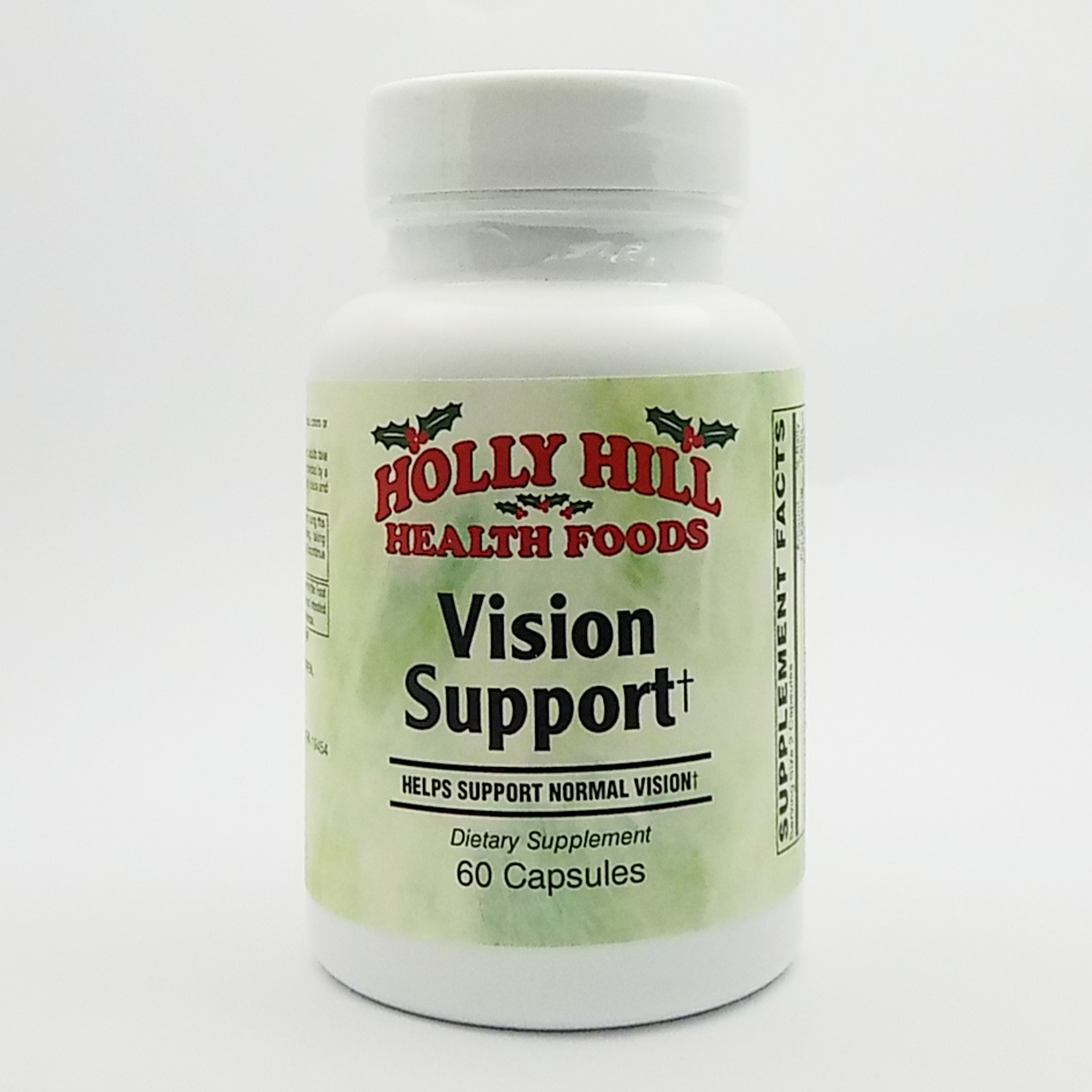 Holly Hill Health Foods, Vision Support, 60 Capsules