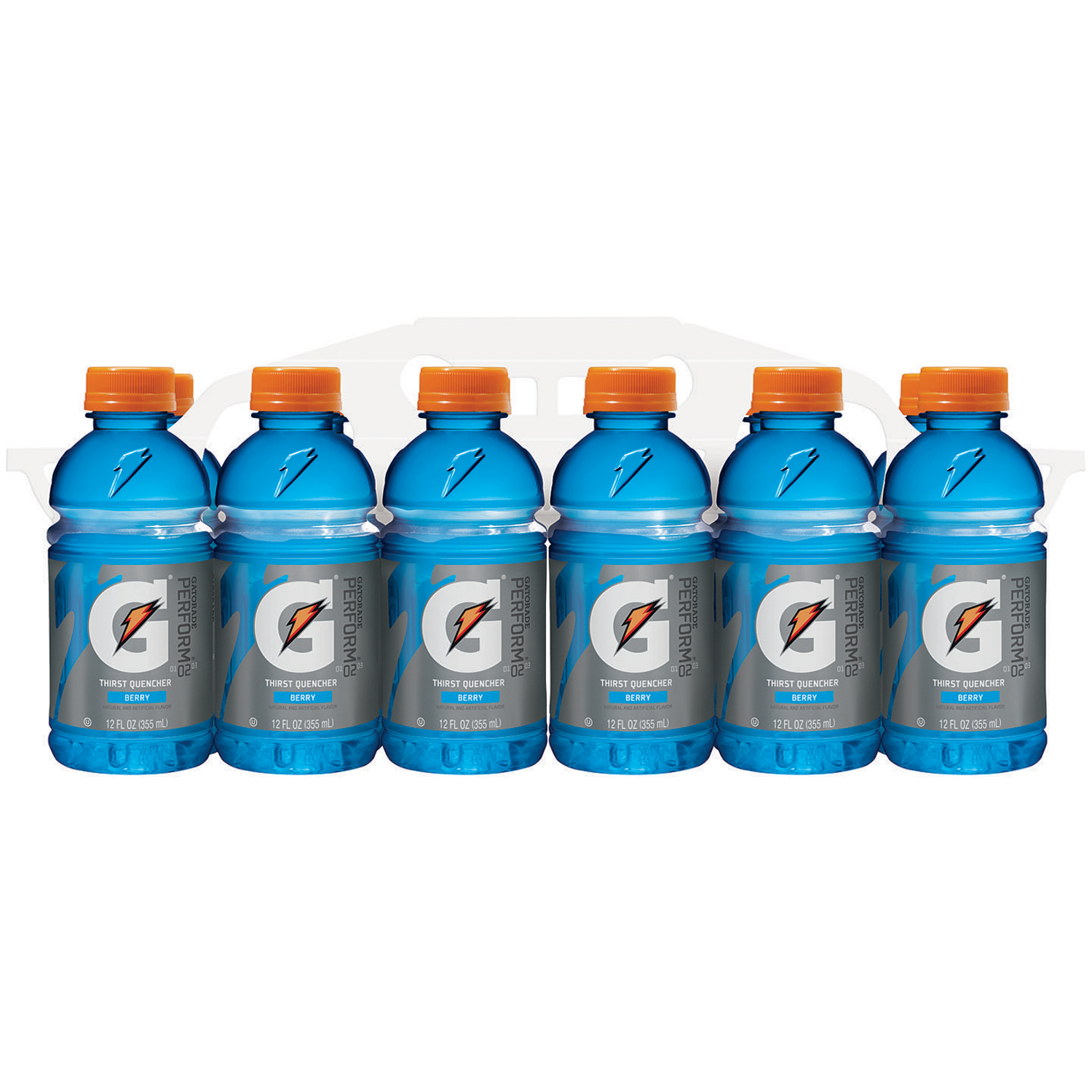 Gatorade Thirst Quencher Perform Sports Drink, Berry, 12 Fl Oz, 12 Count