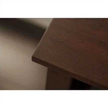 Bush Yorktown 60W Corner Desk in Antique Cherry - image 4 de 11