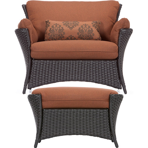 Hanover Strathmere Allure 2-Piece Indoor/Outdoor Lounging Set