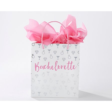 Bridesmaids Gift Bags (Bachelorette Gift Bag (Set of 24) - Fill with Gifts for your Bridesmaids and Maid Of)