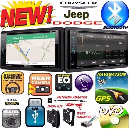CHRYSLER JEEP DODGE DVD CD USB GPS Navigation SYSTEM Bluetooth CAR Radio (Chrysler Car Stereos)