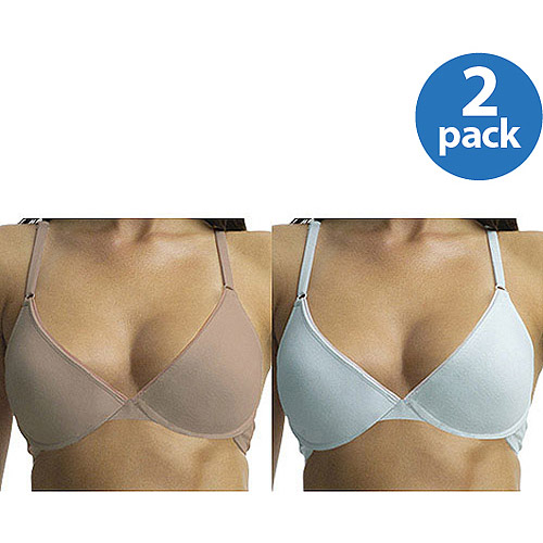 Fruit of the Loom -2-Pack Cotton Stretch Push Up Bra, Style FT045