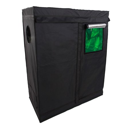 "Ktaxon 48""x24""x60"" Grow Tent For Indoor Plant Growing Dismountable Reflective Hydroponic Non Toxic Room"