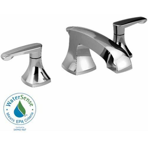 American Standard 7005.801.002 Copeland Widespread Lavatory Faucet with Metal Lever Handles and Metal Speed Connect Pop-Up Drain, Available in Various Colors