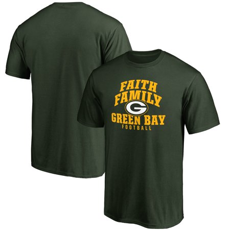 Green Bay Packers NFL Pro Line Faith Family T-Shirt - Green](Nfl Green Bay Packers)