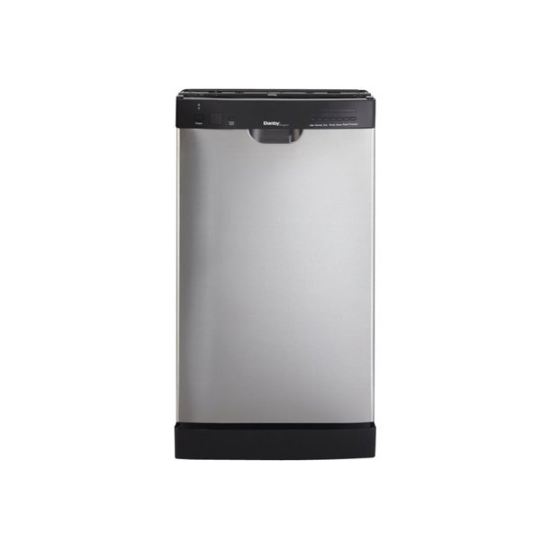 Danby Designer Ddw1899bls 1 Dishwasher Built In Niche Width 18 In Depth 24 In Height 33 In Black Stainless Steel Walmart Com Walmart Com