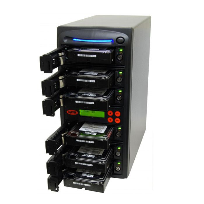 SySTOR 1:5 SATA Hard Disk Drive / Solid State Drive (HDD/SSD) Duplicator/Sanitizer - High Speed (150MB/sec)