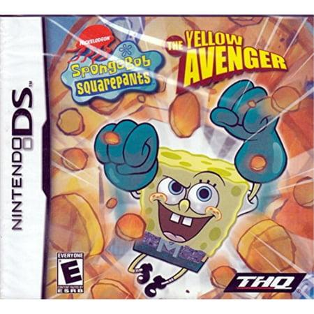 Spongebob Squarepants The Yellow Avenger - Nintendo DS ()