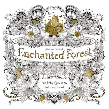 Enchanted Forest: An Inky Quest & Coloring Book - Police Officer Coloring Pages