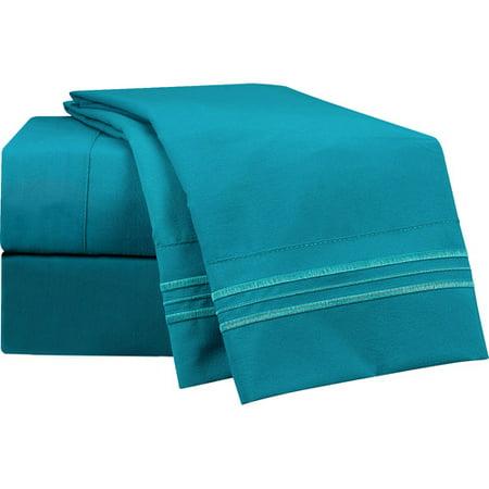 Nestl Bedding Peacock Microfiber Sheet Set