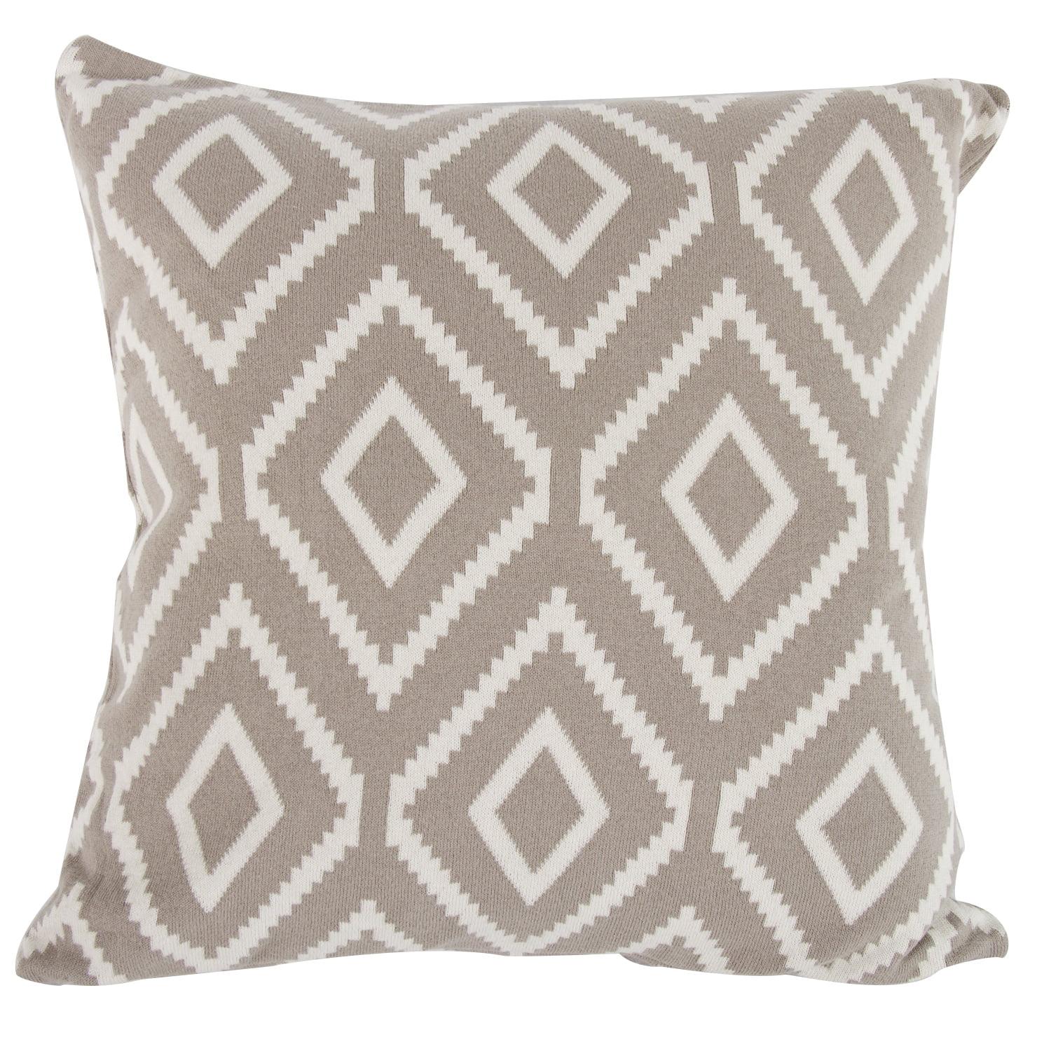 A B Home Diamond Mine Cotton Cashmere Throw Pillow Walmart Com Walmart Com