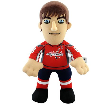- NHL Washington Capitals Alexander Ovechkin 10-Inch Player Plush Doll, Polyester 100% By Bleacher Creatures